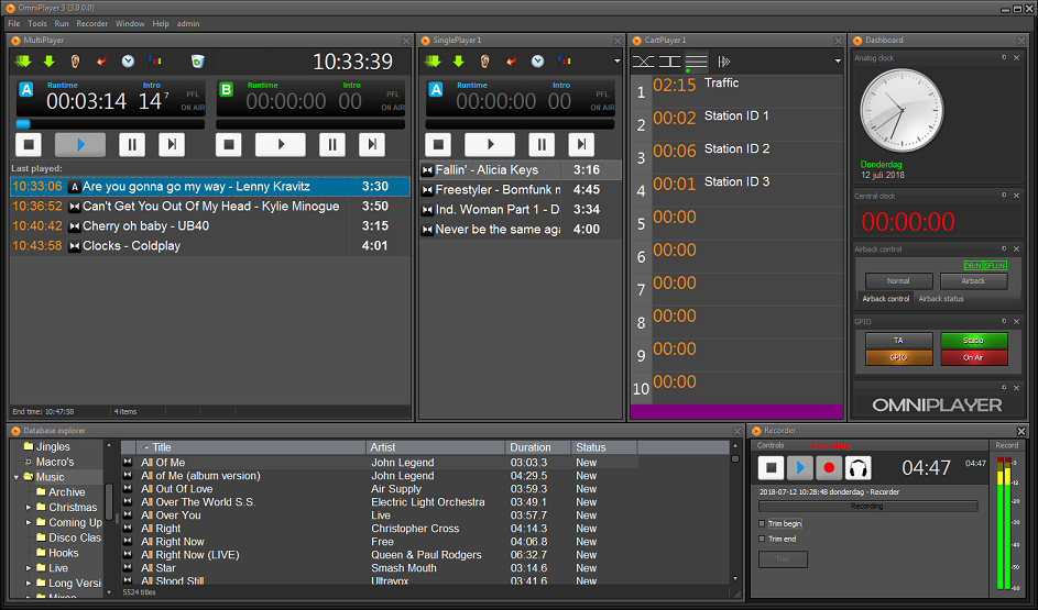 OmniPlayer Returns To IBC Showcasing Its Vision For The Radio Studio Of The Future