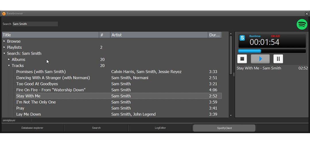 Spotify in your radio studio? No problem