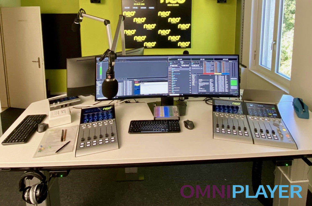 Neo1 third Swiss Radio Station to select OmniPlayer Broadcasting Software