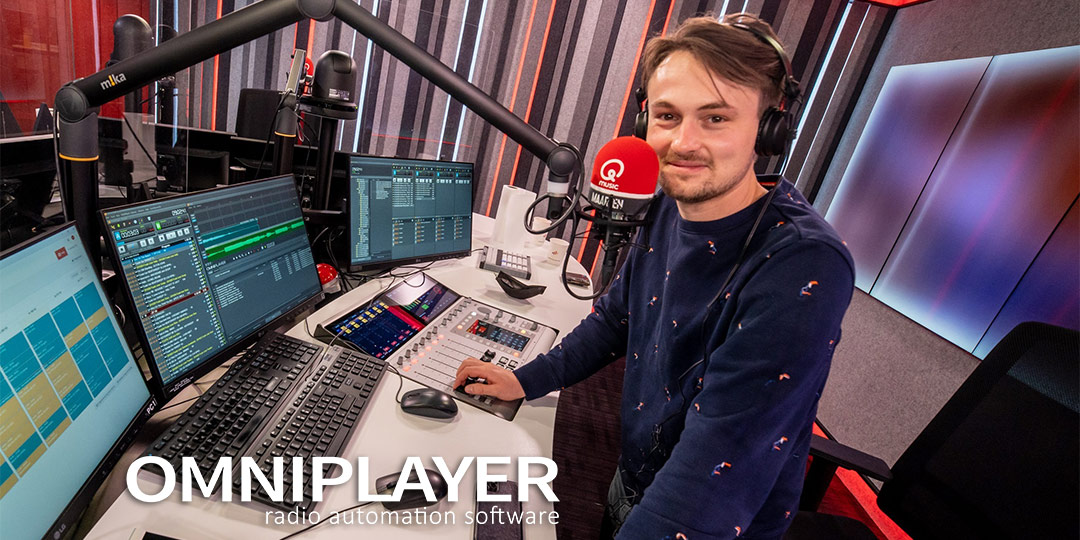 DPG Media Belgium expands use of OmniPlayer Radio Software at FM stations
